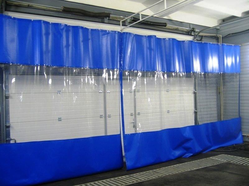 шторы для автомоек и автосервисов