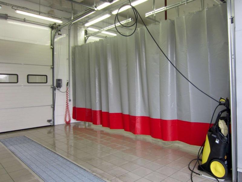 шторы ПВХ для автомоек и автосервисов