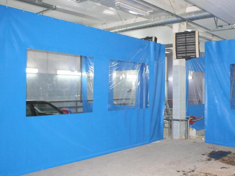 шторы для автомоек и складов