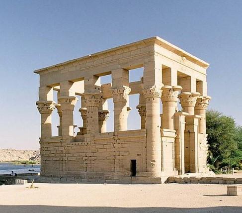 беседка в древнем египте