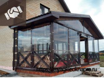 мягкие окна терраса